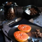 Grilled Pink Grapefruit www.thefoodiecorner.gr