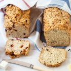 Easy No Knead Beer Bread Two Ways www.thefoodiecorner.gr