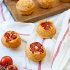 Corn Muffins with Cherry Tomatoes and Cheese www.thefoodiecorner.gr