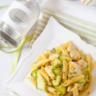 Pasta with Chicken and Mastic Orange Cream Sauce www.thefoodiecorner.gr