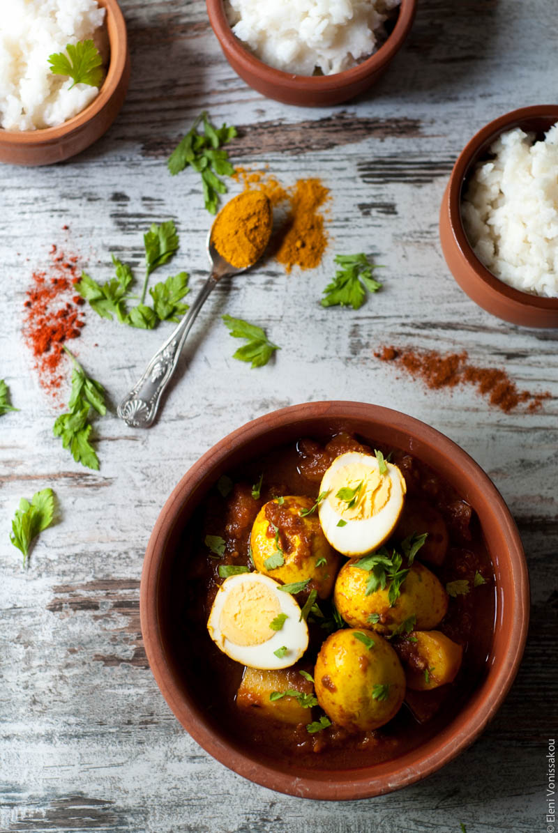 Slow Cooker North Indian Egg Curry