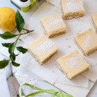 Easy Shortbread Lemon Bars www.thefoodiecorner.gr