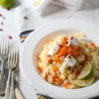 Sweet Potato and Goat's Feta Risotto www.thefoodiecorner.gr