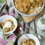Pear and Gorgonzola Crumble www.thefoodiecorner.gr