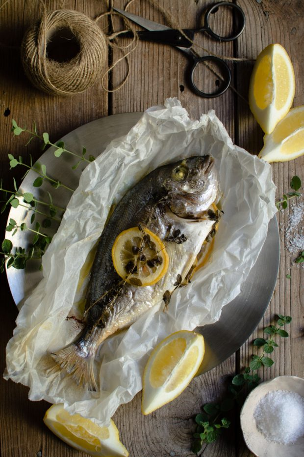 Gilt Head Bream (Dorade) – How to cook a whole fish in the slow cooker